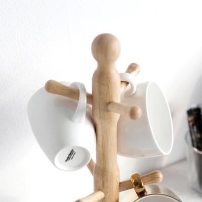 [MORINOKI] 모리노키 원목 원형 컵걸이