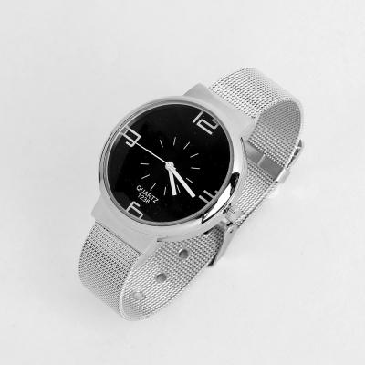 레티 남성 메탈 손목시계(블랙)