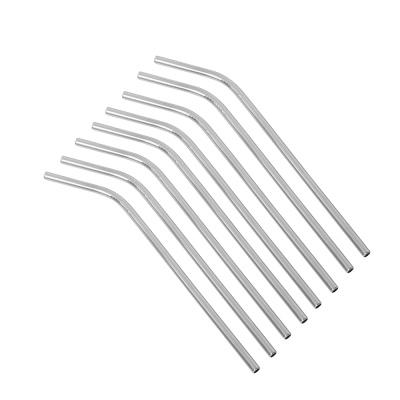 스테인리스 커브 빨대 10p세트 /20cm 스텐스트로우