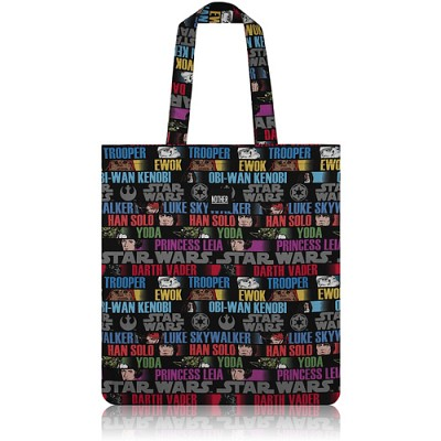 nother Characters Flat Tote / 나더 캐릭터 플랫 토트백 (Star Wars™ Fabric)
