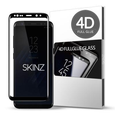 스킨즈 갤럭시S8 4D 풀글루 강화유리 필름 (1장)
