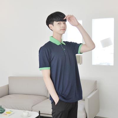 투컬러 배색 피케티 (9colors) 티셔츠