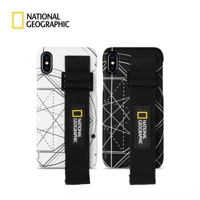 스트랩 슬림핏 로고 패치 케이스 - 아이폰 전기종