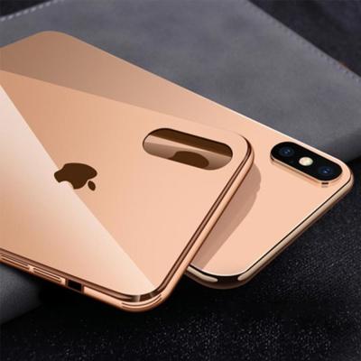 아이폰8 8플러스 슬림핏 클린 강화유리 하드 케이스