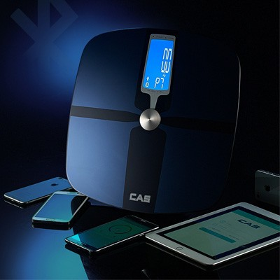 카스(CAS) 블루투스 디지털 체지방 체중계 GBF-1257B (스마트폰 연동)