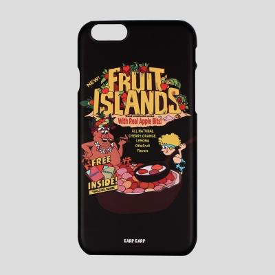 [어프어프] 하드케이스 Fruit islands-black