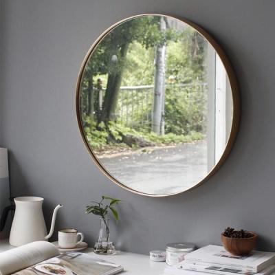 [2HOT] 골드 원형 벽거울 대