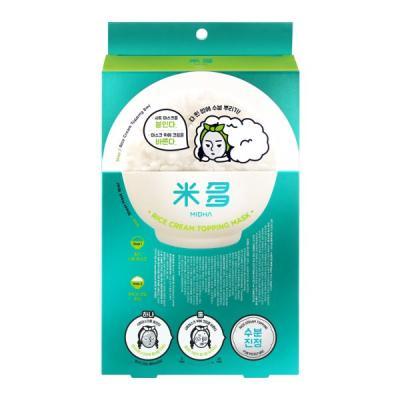 미다 [수분진정] 쌀 크림 토핑 마스크 5매