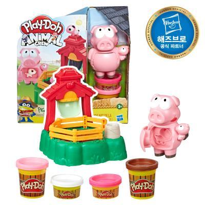 플레이도우 동물농장 분홍 돼지 플레이세트