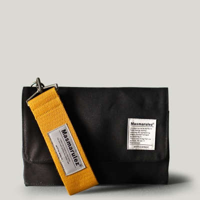 S mini pocket cross bag _ Black