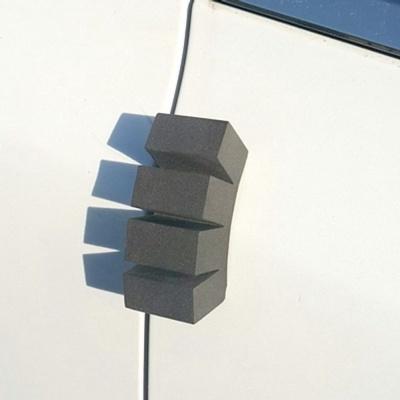 자동차 도어가드 커브 문콕 방지 패드 몰딩 블랙