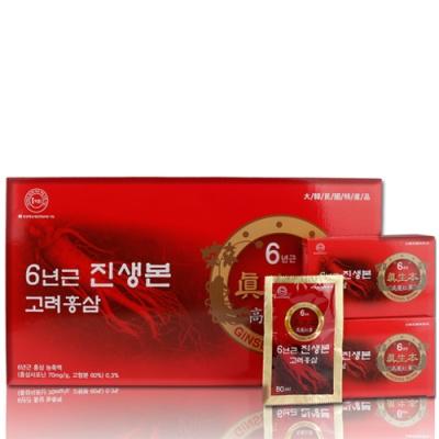 [진생본] 6년근 고려홍삼 80mlx30포
