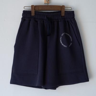 Sweat shorts emblem (navy)
