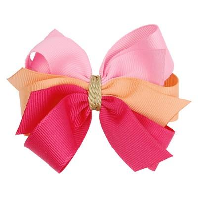 [헤어보우]릴리 헤어핀-핑크(HB110079-1)