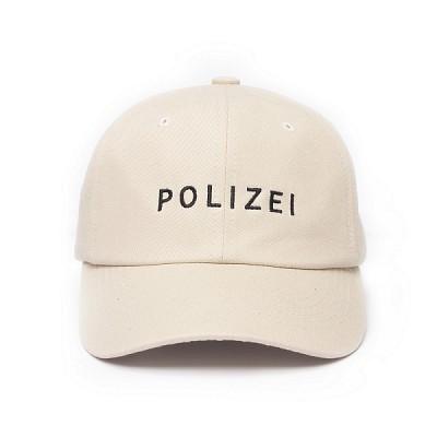 TNP POLIZEI 6 panel Hat - BEIGE
