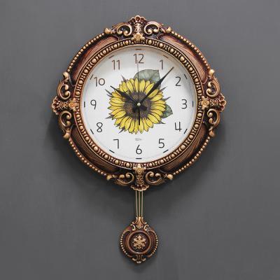 (kcp061)저소음 데뚜아 해바라기 시계