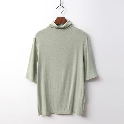 Wool Must Turtleneck Tee