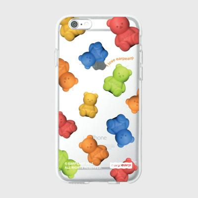 Little fire covy colorful pattern-clear(젤리)