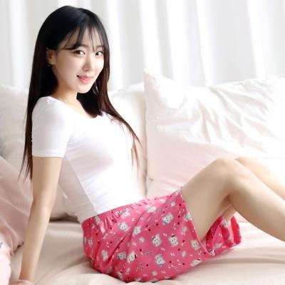 테라우드 여성용 풍기인견 5부 파자마 잠옷 바지