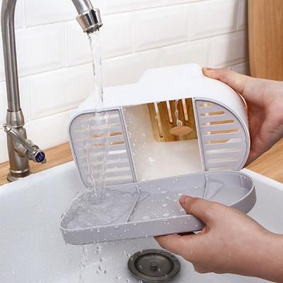 에브리홈 분리형 다용도 키친롤 식기통 수저통