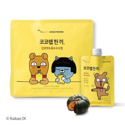 코코랩한끼 뮤즐리_단호박&옥수수수염 (65g x 5EA)