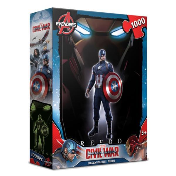 마블 시빌워 퍼즐 1000피스 히어로 캡틴 아메리카 직소퍼즐