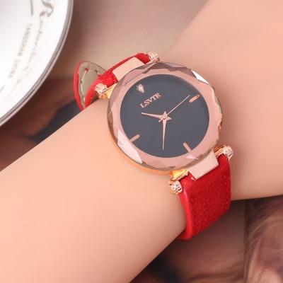 틴아라 여성 손목시계(레드)