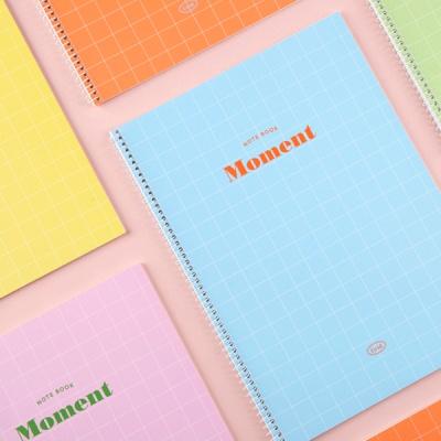 [단독판매]  Moment 스프링 모눈노트  (5 color)