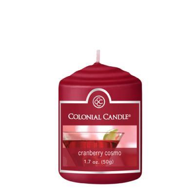 COLONIAL CANDLE 1867 보티브 캔들 1.7oz 크랜베리 코스모