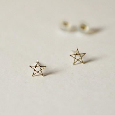 light star earring