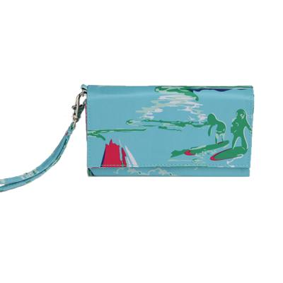 [ALL FOR COLOR]ID Wristlet_Island-Time