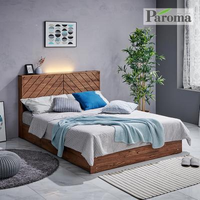 파로마 다나 원목침대 수납형 Q GS028