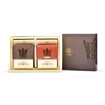 해피하우스 신라 왕실전통차 천명차20포 동살선물세트