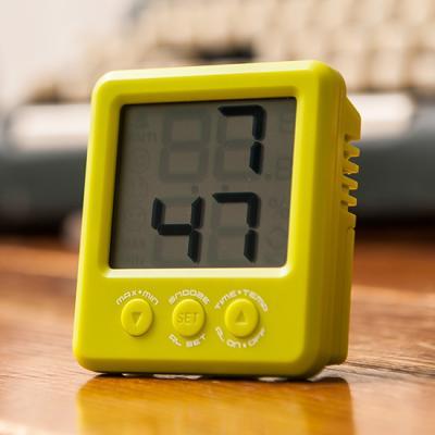 넥서스 K0393A 그린 온습도표시 벽탁상 디지털시계