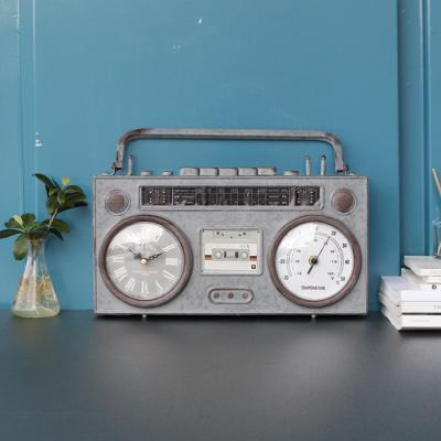 빈티지 라디오 시계 (3B207)-2color