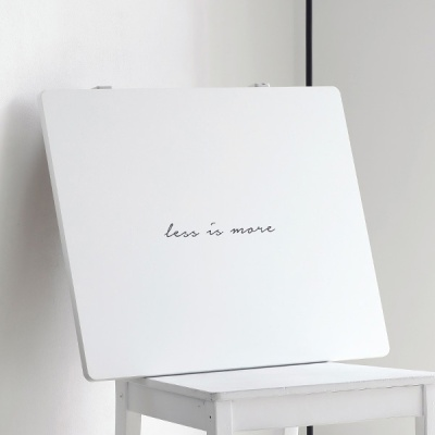 E0 레터링 접이식 테이블 ver.1/2 [M]