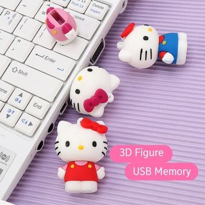 헬로키티 3D 피규어 USB메모리 8GB