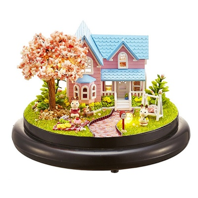 [adico]DIY 미니어처 하우스 - 벚꽃하우스