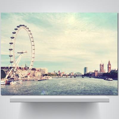 런던 스카이라인 - 감성사진 폼보드 액자