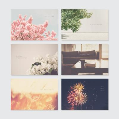 센티멘탈2 포스트카드 엽서