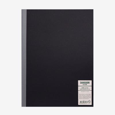 단순생활 실제본노트 A4 블랙
