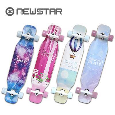 뉴스타 롱보드701 41인치 입문형 컴플릿 스케이트보드