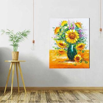 Home gallery CANVAS Oil Painting 그린화병 해바라기
