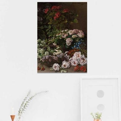 주문제작 액자 Monet Spring Flowers 594x841x30mm