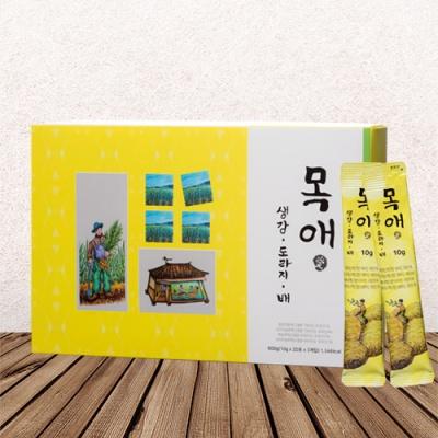 목애(愛) 생강,도라지,배 10gx30포(스틱)