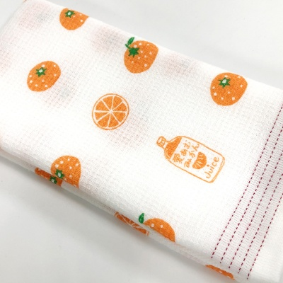 테누구이 다용도 타월 - 오렌지 귤