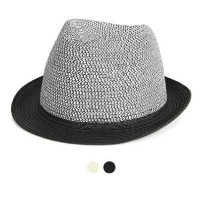 [디꾸보]체크 페도라 중절모 모자 JAN347