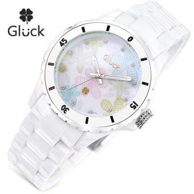 [Gluck]글륵 행운의 시계 GL1314-B 본사정품 남여공용
