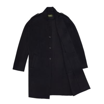 Strutting gait over coat Black
