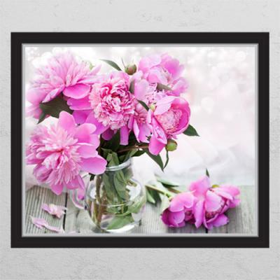 ac181-재물의모란꽃병_창문그림액자